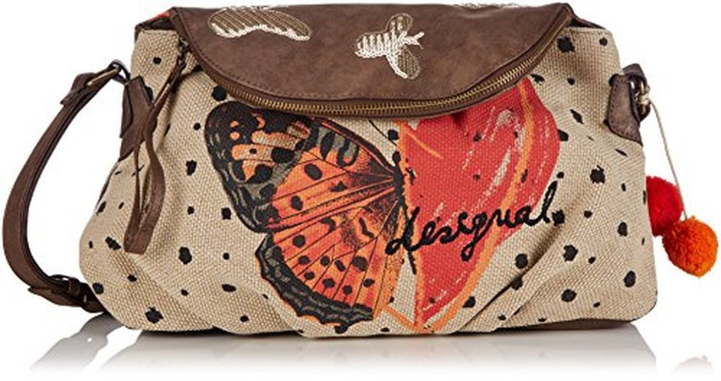 desigual bols soho butterheart sacs bandouli re femmes 2016 soldes sac mains top. Black Bedroom Furniture Sets. Home Design Ideas