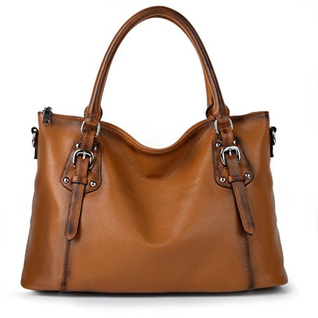 Yahoho sac port epaule sac main bandouli re femme vachette vintage style large 2016 soldes - Porte sac a main ...