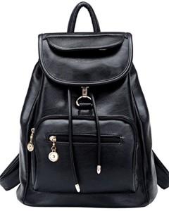 Coofit sac à dos femme loisir en cuir sac college fille cartable d'école sac à dos voyage femme 2016