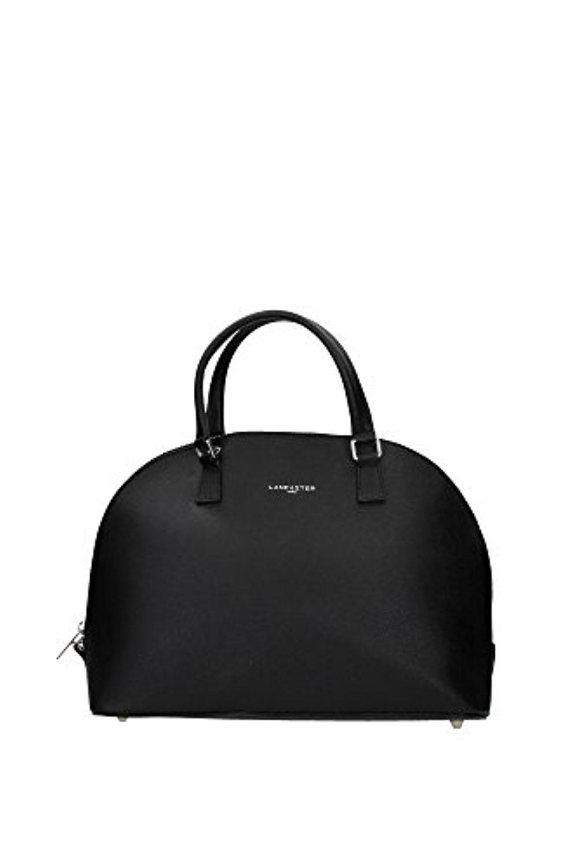 42147noir lancaster sac main femme cuir noir 2017 soldes sac mains top. Black Bedroom Furniture Sets. Home Design Ideas