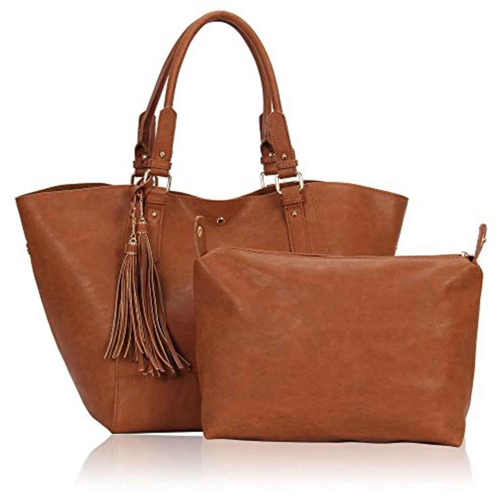 veevan sac fourre tout sac main 2 en 1 r tro pour femme 2017 soldes sac mains top. Black Bedroom Furniture Sets. Home Design Ideas