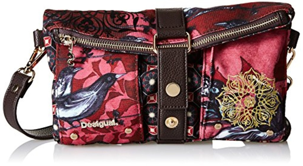 desigual clutch birdland sacs bandouli re femme 2017 soldes sac mains top. Black Bedroom Furniture Sets. Home Design Ideas