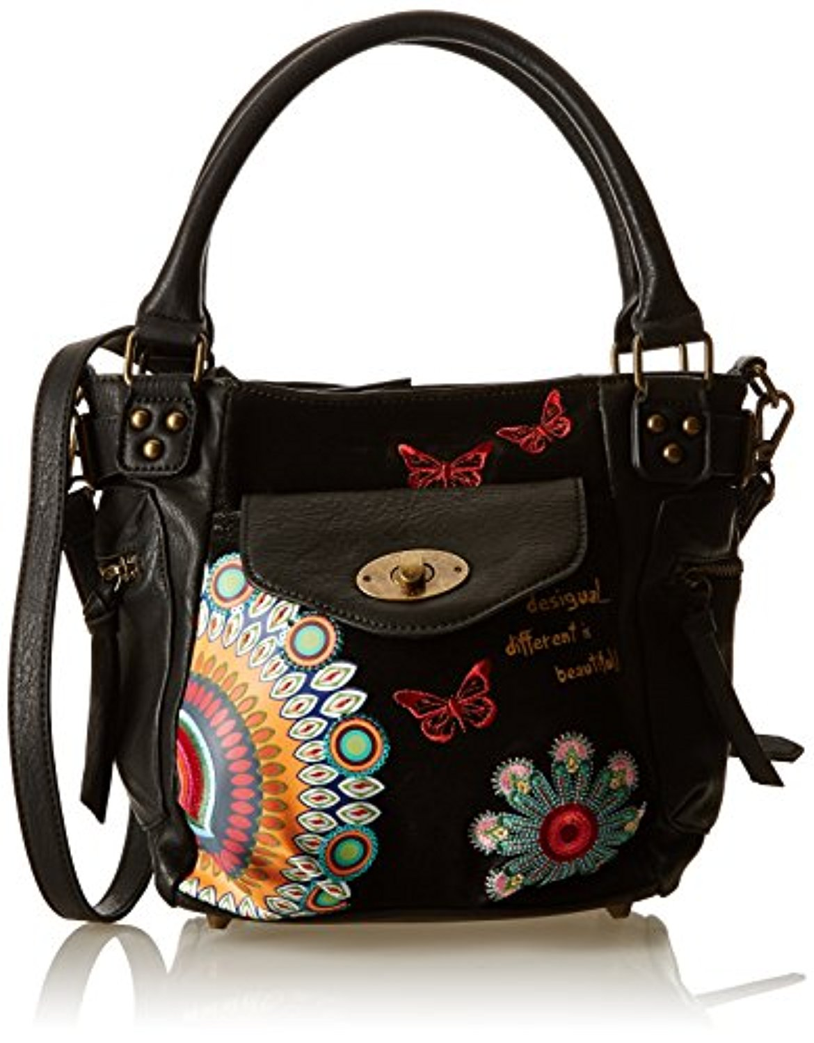 desigual mcbee mini candy sacs port s main femme 2017 soldes sac mains top. Black Bedroom Furniture Sets. Home Design Ideas