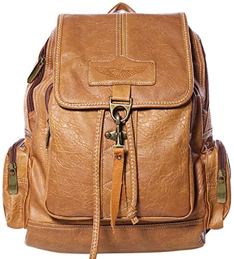Coofit Cartable sac à dos college femme sac à dos cuir sac voyage femme sac à dos loisir sac femme 2017