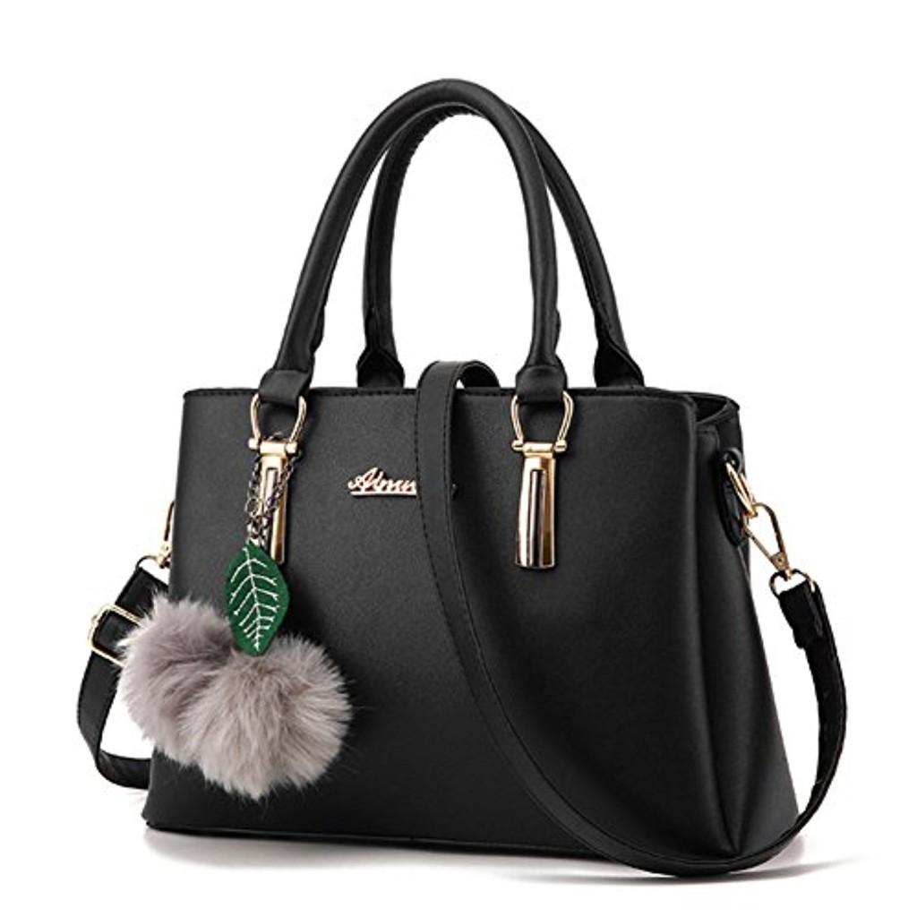 Grand Sac Bandoulière Cuir Femme : Zixing grand sac a main en cuir bandouli?re pour femme