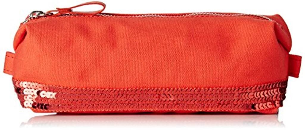 Vanessa Bruno Femme Cabas trousse coton et paillettes, Rouge (Pasteque, 6x26x10 cm (W x H x L) 2017