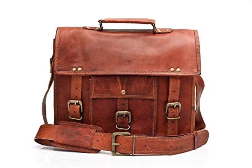 barello winchester cartable en cuir sac en bandouli re sac port paule sacoche en cuir sac. Black Bedroom Furniture Sets. Home Design Ideas