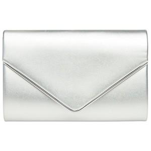 CASPAR TA373 Sac à main clutch enveloppe élégant pour femme – Pochette de soirée avec longue chaînette 2017