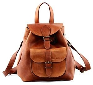 PAUL MARIUS petit sac à dos en cuir couleur Naturel style vintage LE BAROUDEUR 2017