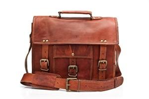 Barello Winchester cartable en cuir sac en bandoulière sac porté épaule sacoche en cuir sac business homme femme 2017