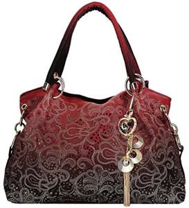 Coofit Sac femme cuir Sac à main femme cuir Sac à bandoulière femme Cabas femme Sac portes epaule Women's shoulder bag 2017