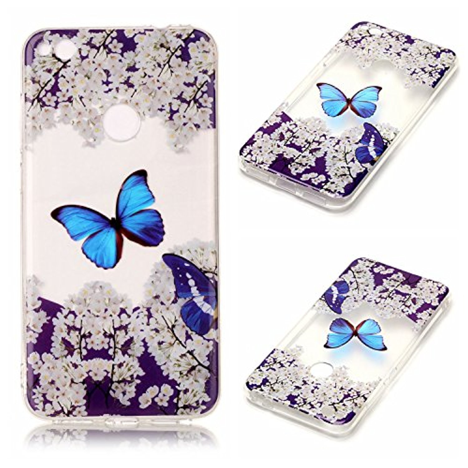 Coque gel pour huawei p8 lite 2017 coquille en silicone for Housse huawei p8 lite 2017