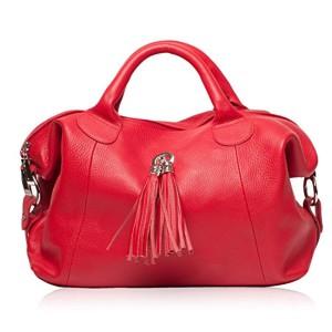 OH MY BAG Sac à Main en CUIR grainé femme porté main et bandoulière Modèle Chambord Nouvelle collection 2017