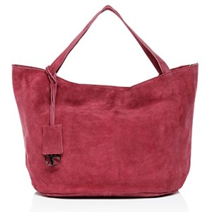 BACCINI sac porté épaule SELMA – grand – besace hobo – sac des dames en cuir véritable 2018