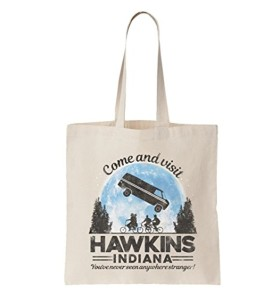 Come And Visit Hawkins Indiana sac fourretout en toile inspir par Stranger Thing 2018