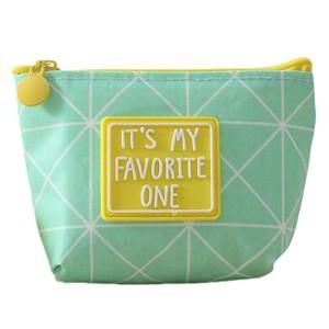 Da.Wa Mini changement mignon porte-monnaie avec étui de carte sac à glissière portefeuille sac en tissu imperméable à l'eau pour les femmes filles enfants 2018