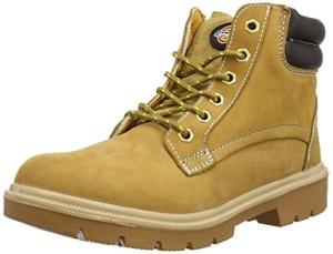 Dickies Donegal, Chaussures de sécurité Homme – Marron (nubuck), 43 EU 2018