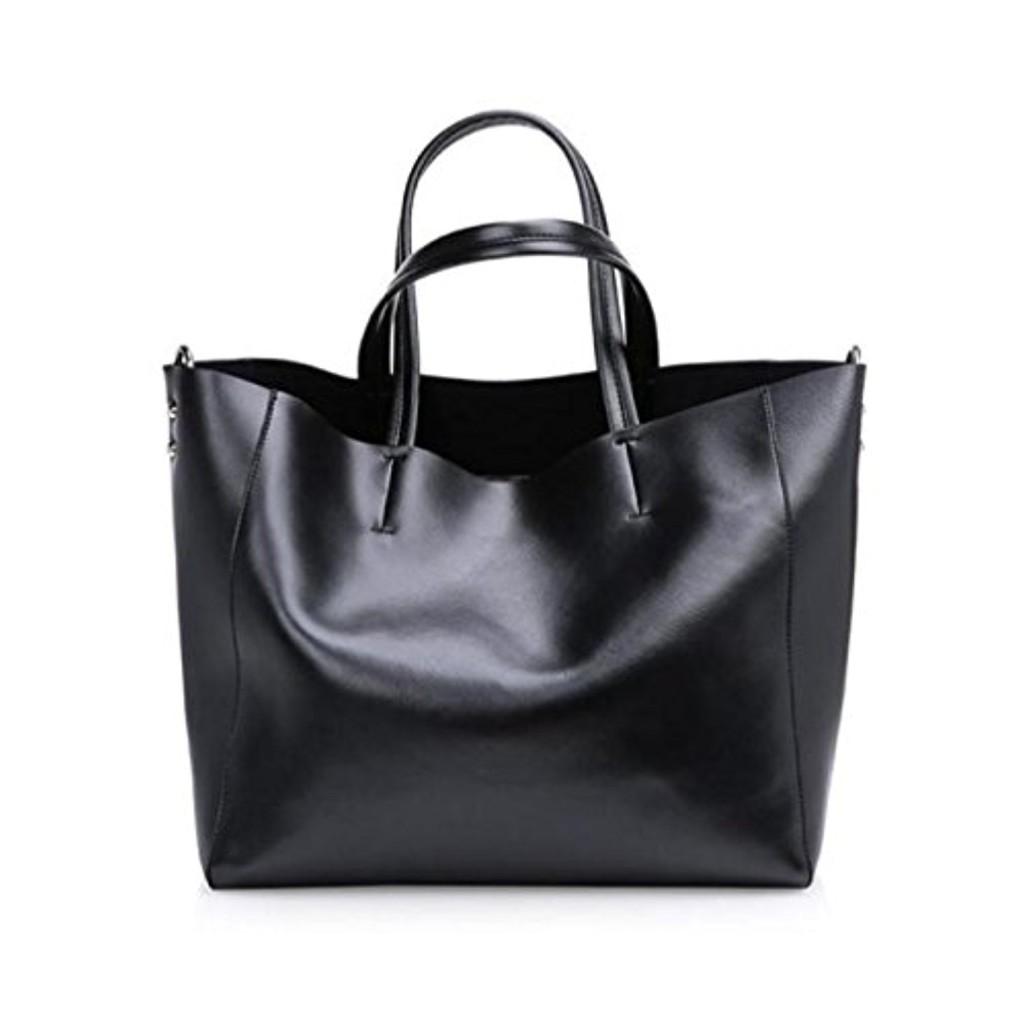 esailq automne et hiver nouveau sac main en cuir de mode grand sac sac bandouli re en cuir. Black Bedroom Furniture Sets. Home Design Ideas
