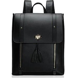 Estarer Sac à dos Femme Cuir Cartable Sac porté dos Scolaire Fille Backpack pour Ordinateur Portable 15.6″ 2018