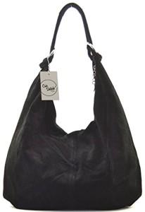 Offre exceptionnelle de lancement CUIR DESTOCK sac à main cuir nubuck femme porté main et épaule Modèle bloom destockage 2018