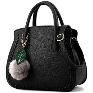 Ladies' PU Leather Handbags for Women Autumn Trend of Simple Fashion Shoulder Bag with Strap 2018