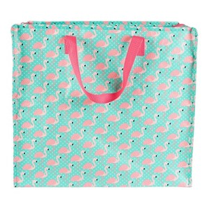 Tropical Flamingo Storage Bag Pink Shopping Tote Bag Carry Cute Animal 2018