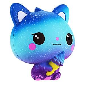 Jouet Kawaii petit chat, Anti-stress Jouet de Squishy Lente Slow Rising Cadeau pour Enfants (A) 2018
