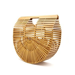 sac en bambou,Sac à Main Vintage Sac à Main En Bambou Fait Main Lady Grande Fourre-Tout Sac à BandoulièRe Plage Sac à main en bambou à la mode 2018