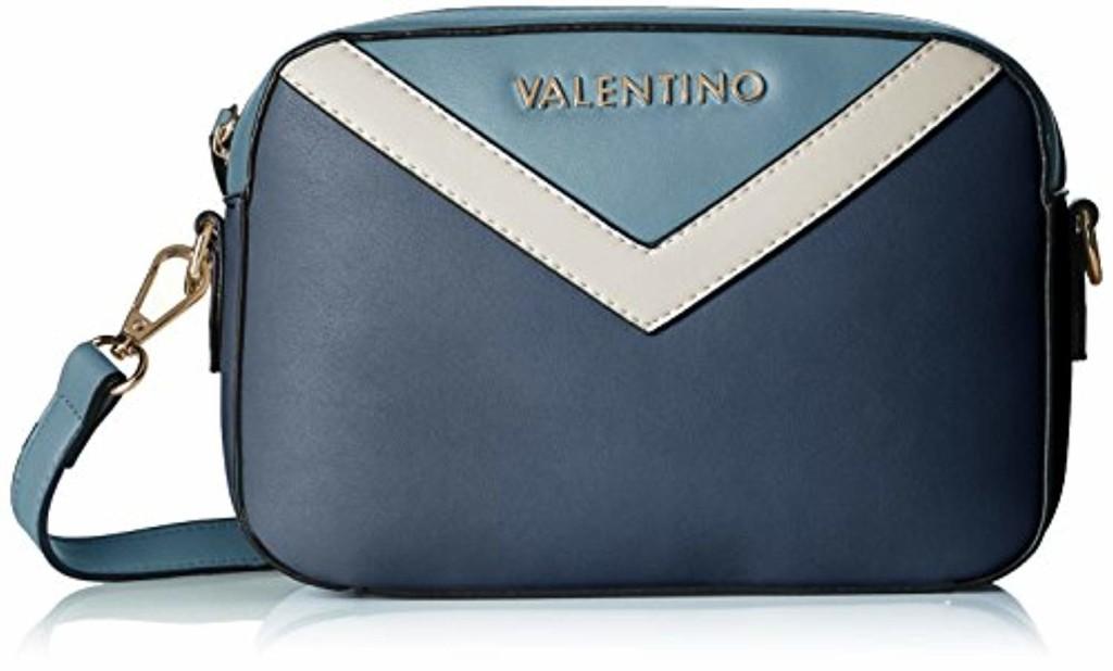 Mario Valentino VBS0II02, sac baguette femme - Multicolore - Multicolore (Blu/Multicolor E18), 6.0x15.0x22.0 cm (B x H x T) 2018
