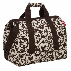Reisenthel mS7003 sac de voyage allrounder m (fleurs noires) 2018