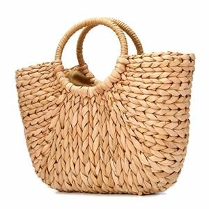 Sac de plage d'été, JOSEKO Sac d'épaule d'été de sac de paille des femmes pour le voyage de plage et l'utilisation quotidienne 2018