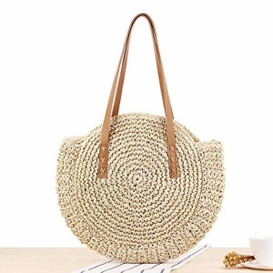 sac rotin Fancylande Brand New Outdoor Paille de plage tressée sac de plage tressé Sac de voyage sac à bandoulière double usage Voyage Sling 2018
