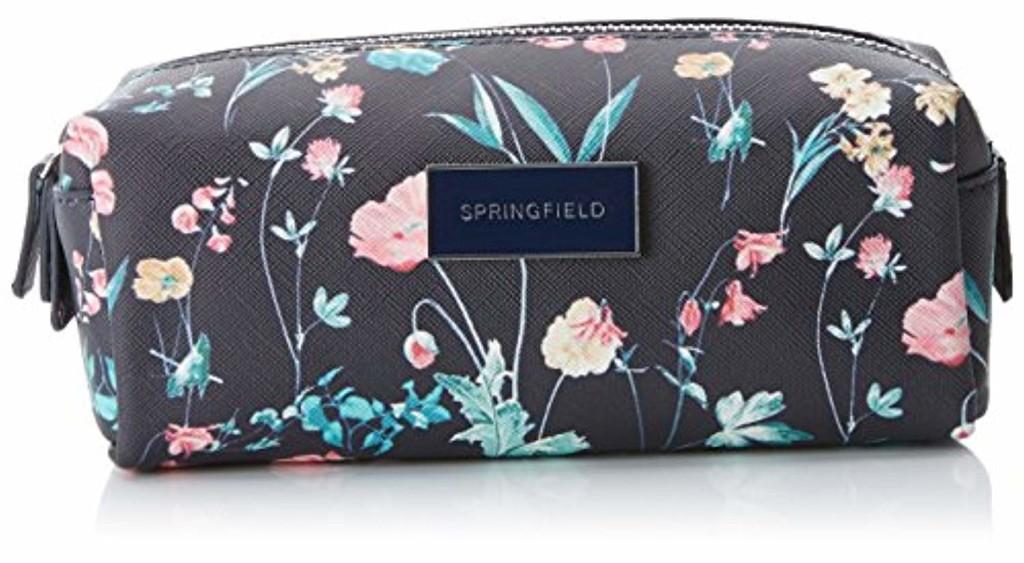 Springfield Neceser, Cartable pour Femme Bleu 2018