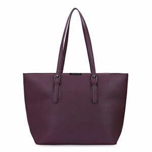 David Jones – Sac à Main Shopping Femme Grand Format – Sac Cours Lycée Fille – Cabas Fourre-Tout Porté Epaule Cuir PU Anse Longue – Shopper Grande Capacité – Sac Etudiante Travail 2018