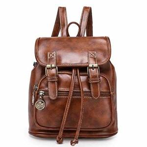 Tibes grand sac à dos en cuir PU sac à dos décontracté sac à dos des femmes cartables filles B Noir 2018