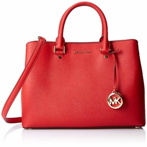Michael Kors Savannah, Cartables femme, Rouge (Bright Red), 15.2×25.4×35.5 cm (W x H L) 2018
