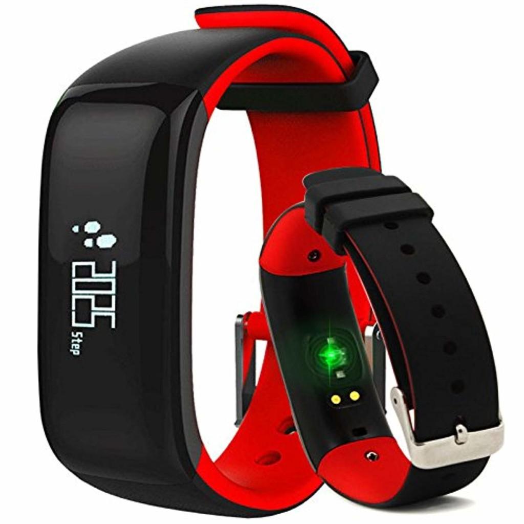 JSGJSH Bracelet Montres Smart Pulsometer Tensiomètre Smartwatch Réveil Vibrant Bracelet à Puce Smart Band podomètre pour xiomi Vivo - Orange 2019