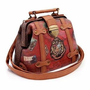 Karactermania Harry Potter Railway-Doctor Shoulder Bag Sac bandoulière, 20 cm, Marron (Brown) 2019